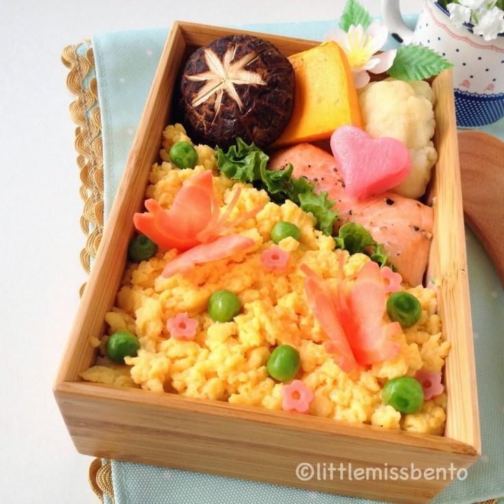 Butterfly-Japanese-Bento