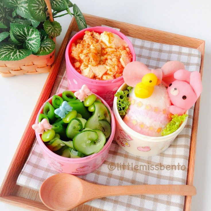 Bunny-and-Little-Chick-Easter-Bento-3-
