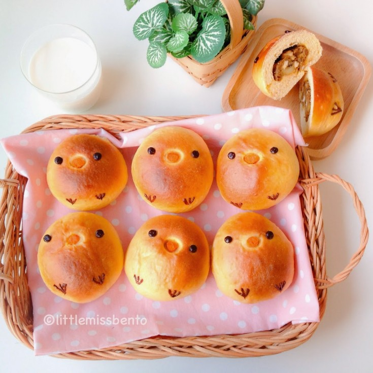 Homemade-Chick-Japanese-Curry-Bread-Bun-Recipe-3-