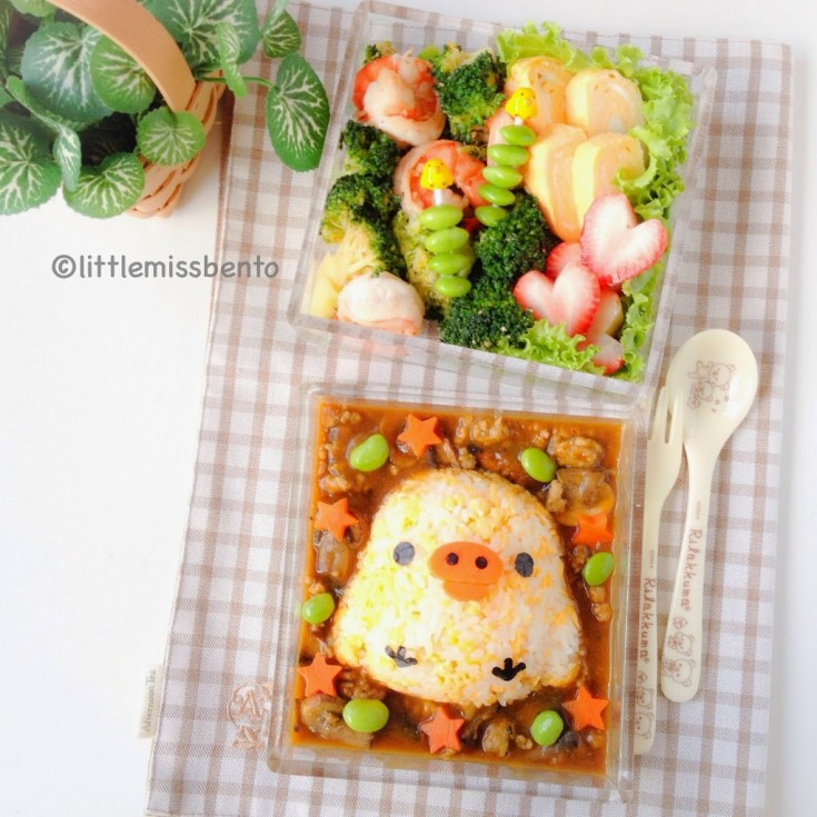 Kiiroitori-Japanese-Omelette-Curry-Rice-Bento-3-