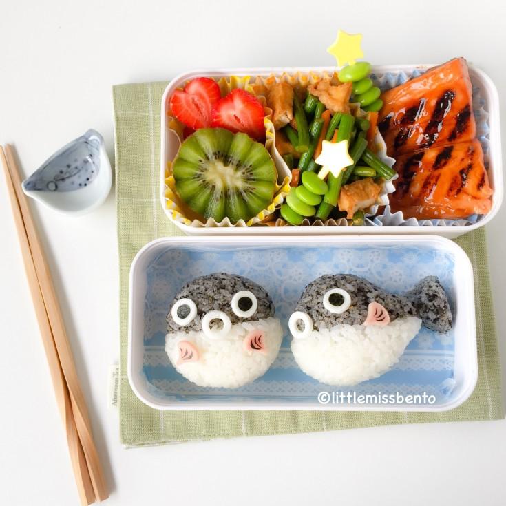 Pufferfish Bento (1)