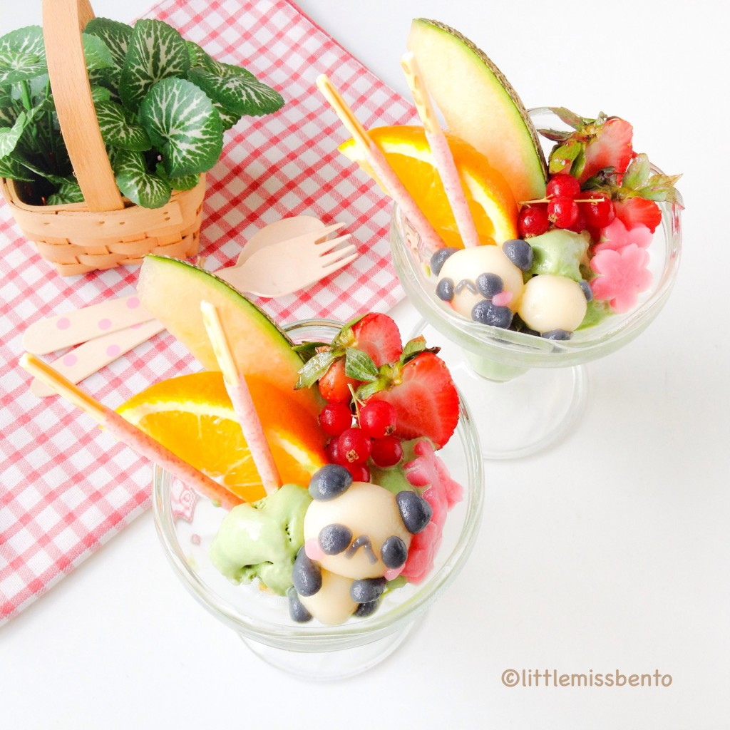 Recipe for Deco Shiratama Homemade Japanese Parfait