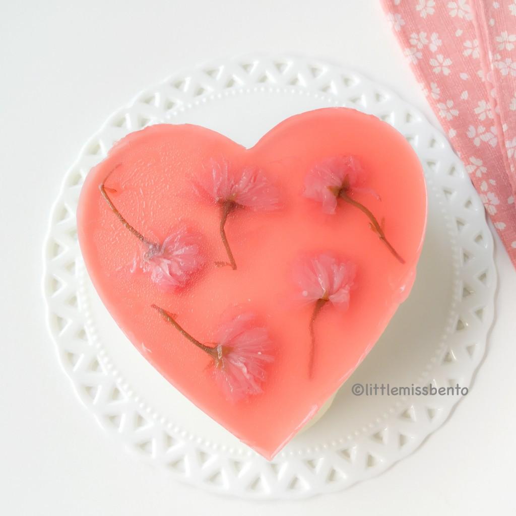Sakura Yuzu Fromage Mousse Cake (4)