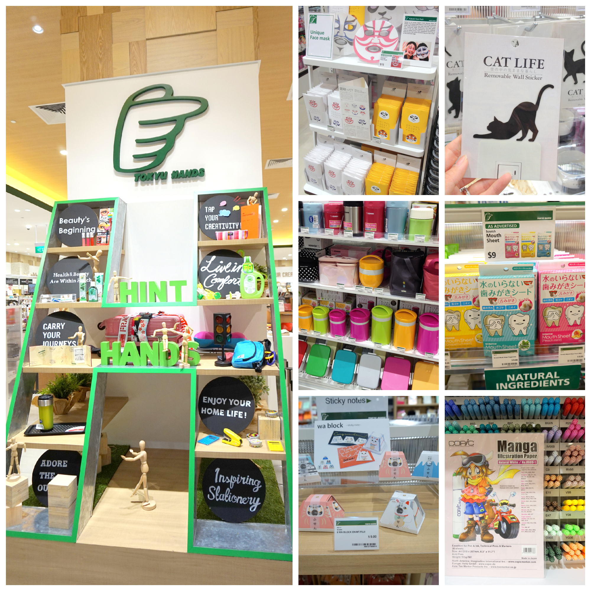 New Store] Tokyu Hands Opens at Westgate (Part 2) - Little