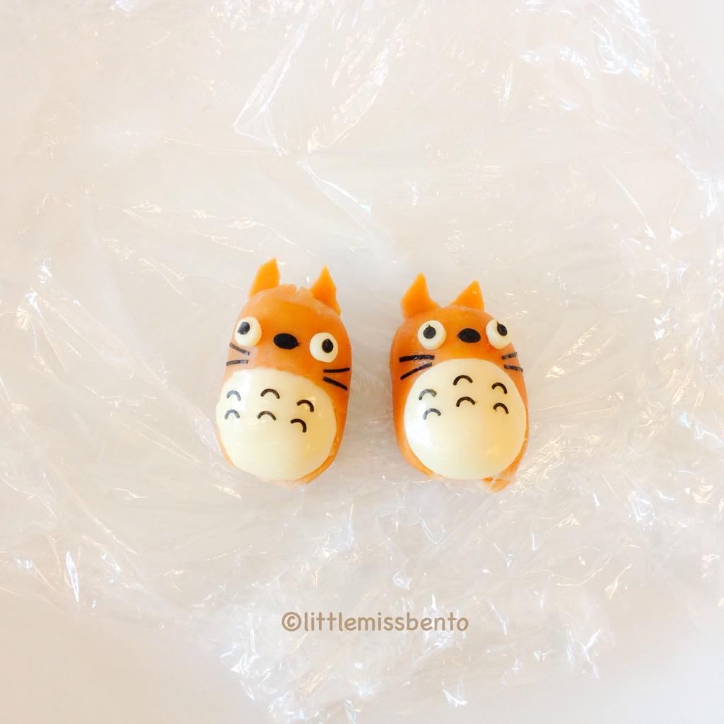 Totoro Sausage Bento Tutorial (4)