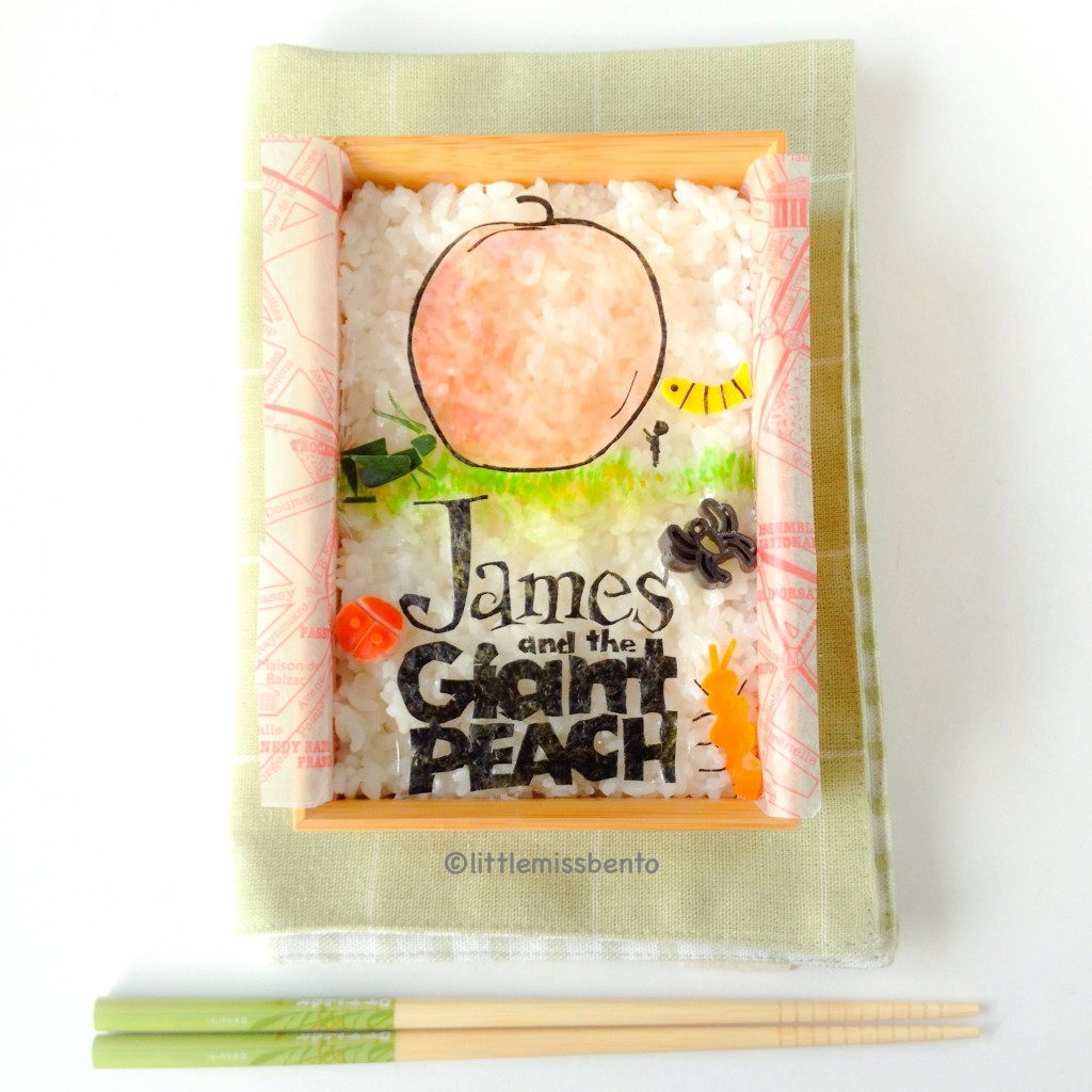roald dahl bento James and the giant peach (2)