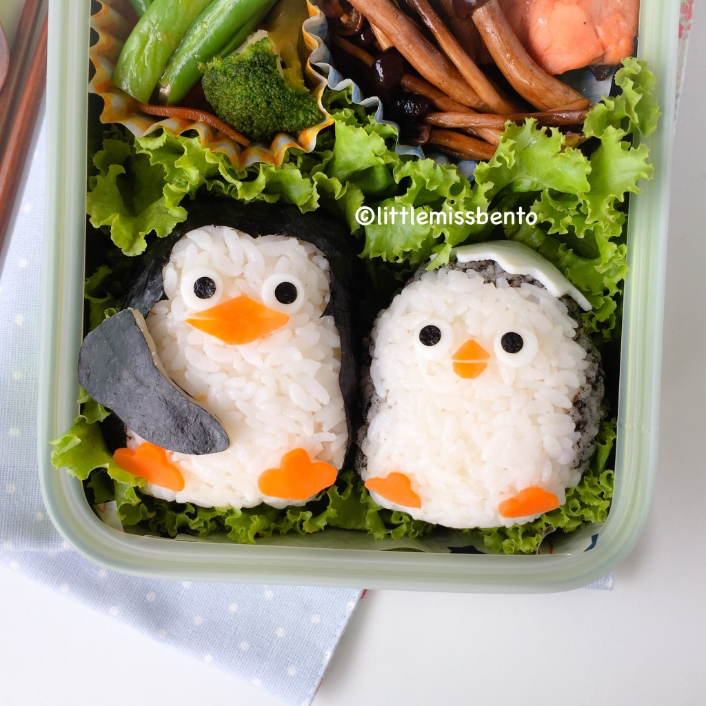 Baby Penguins Madagascar Bento (3)