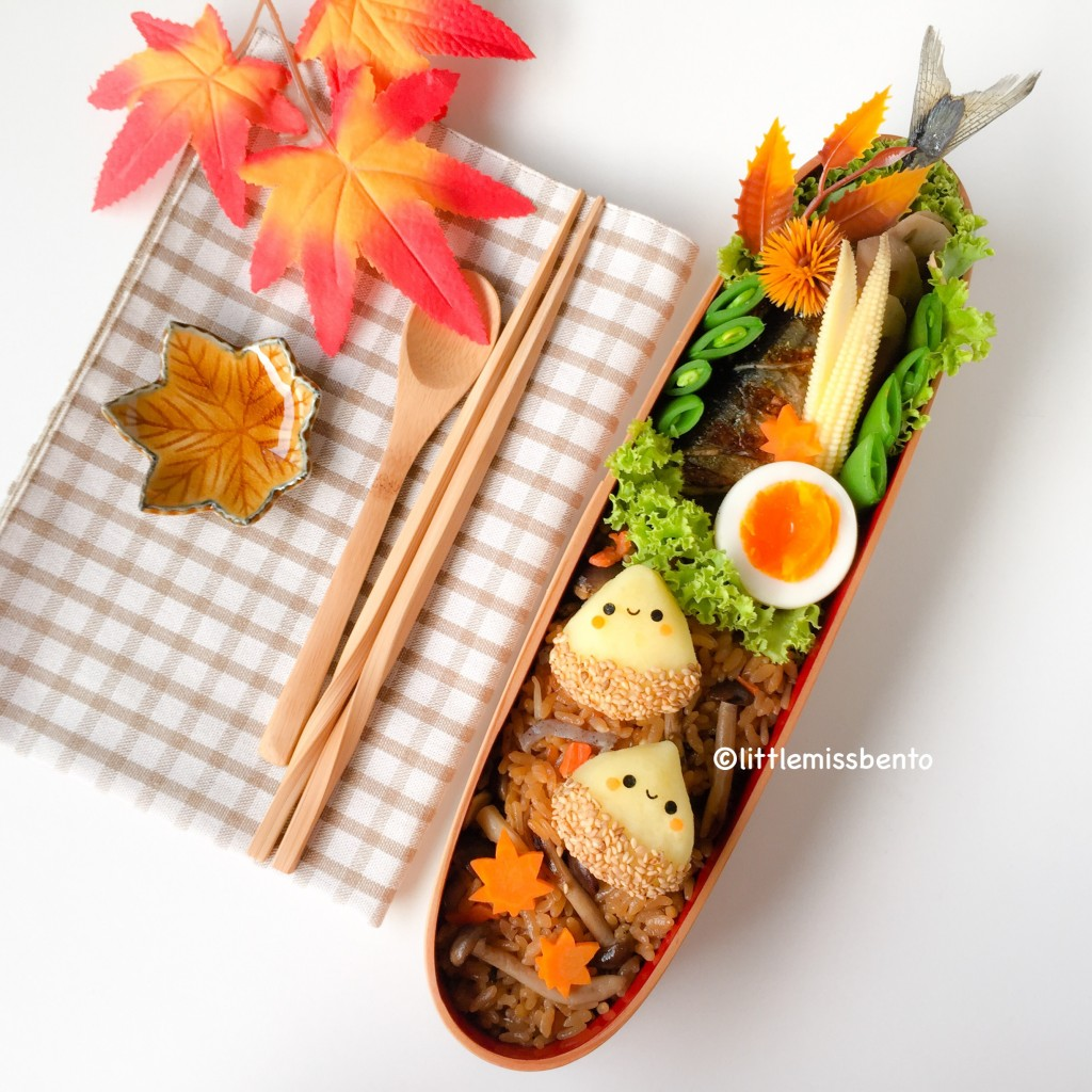 Chestnut Autumn Bento (2)