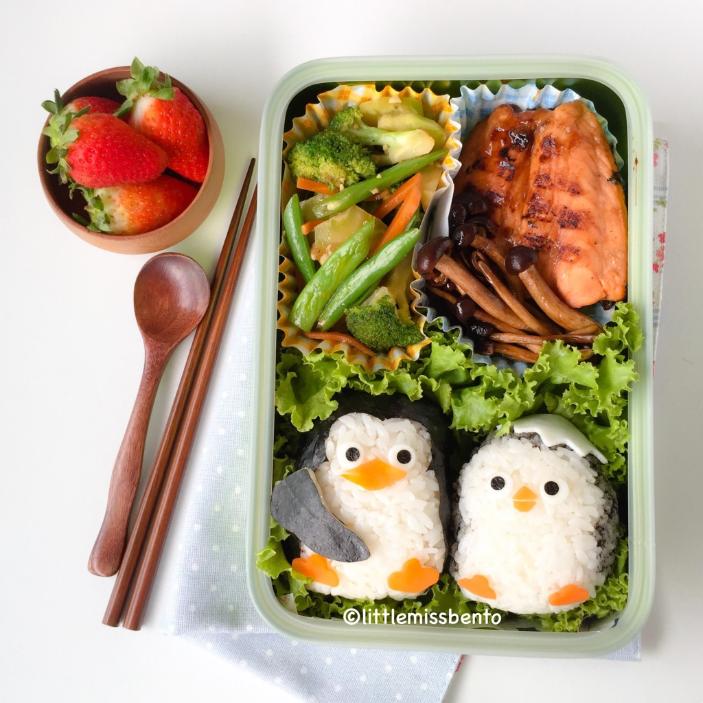 Penguins Madagascar Bento (2)