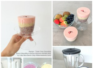 Triple Colour Smoothie Recipe