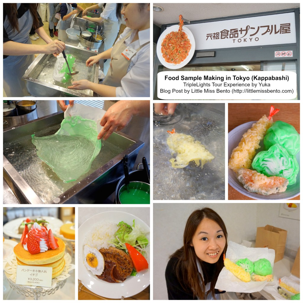 Food Sample workshop in Tokyo