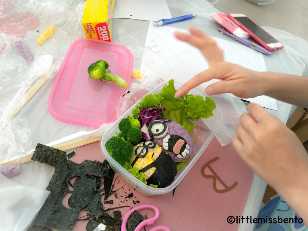 Minion Bento Workshop 3