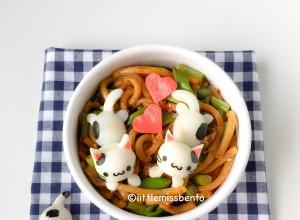 Kitty Udon Bento (2)
