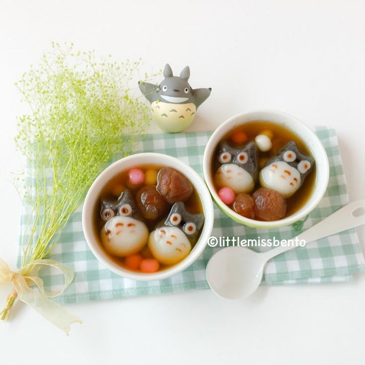 Totoro Tang Yuan Recipe