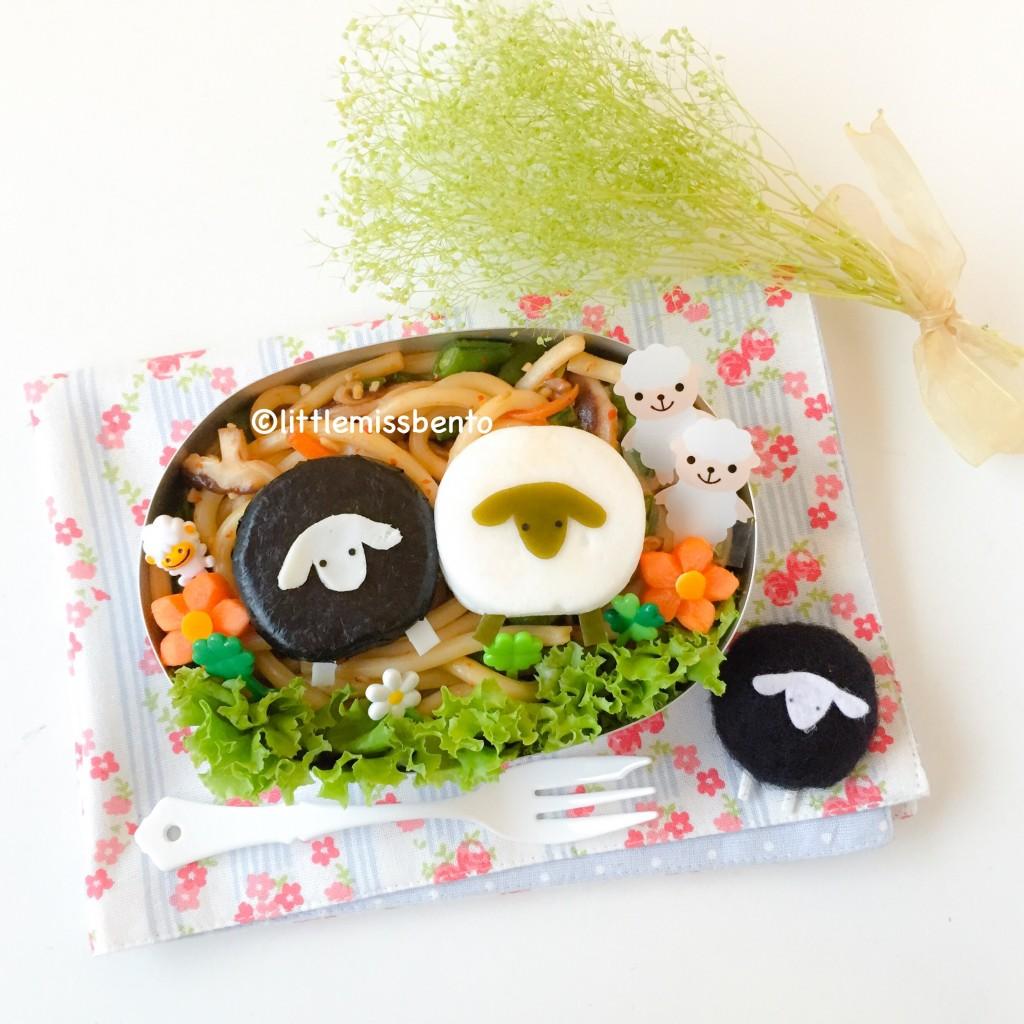 Sheep Bento (1)