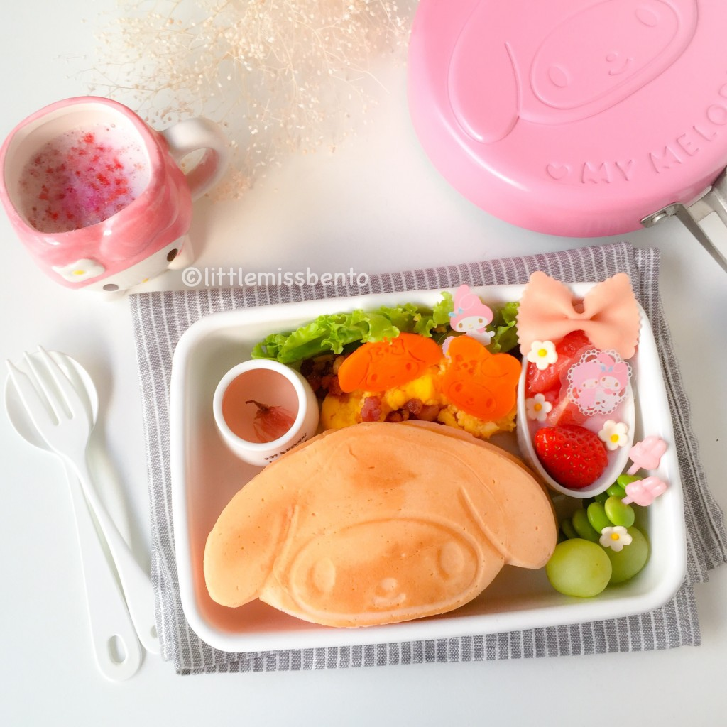 My Melody Pancake Bento (2)