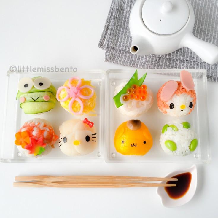 Sanrio Temari Sushi Bento (4)