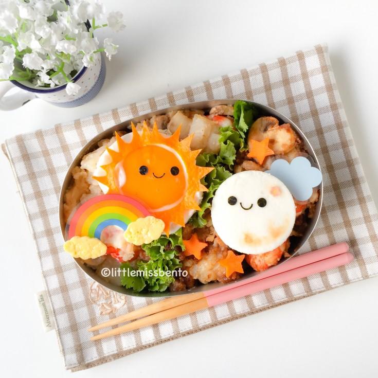 Sun & Moon Carrot Cake Bento (4)