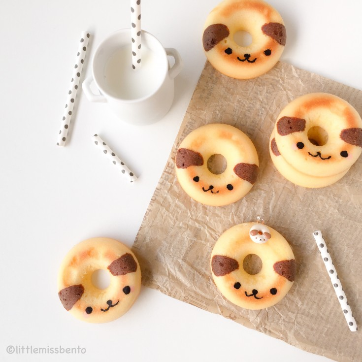 Baked Cute Doggy Donuts (1)