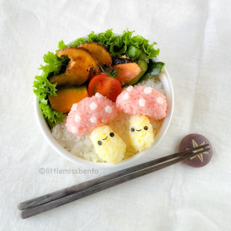 Matsutake Mushroom Bento (3)