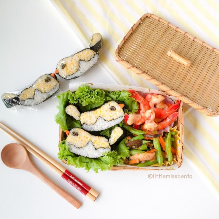 decorative sushi