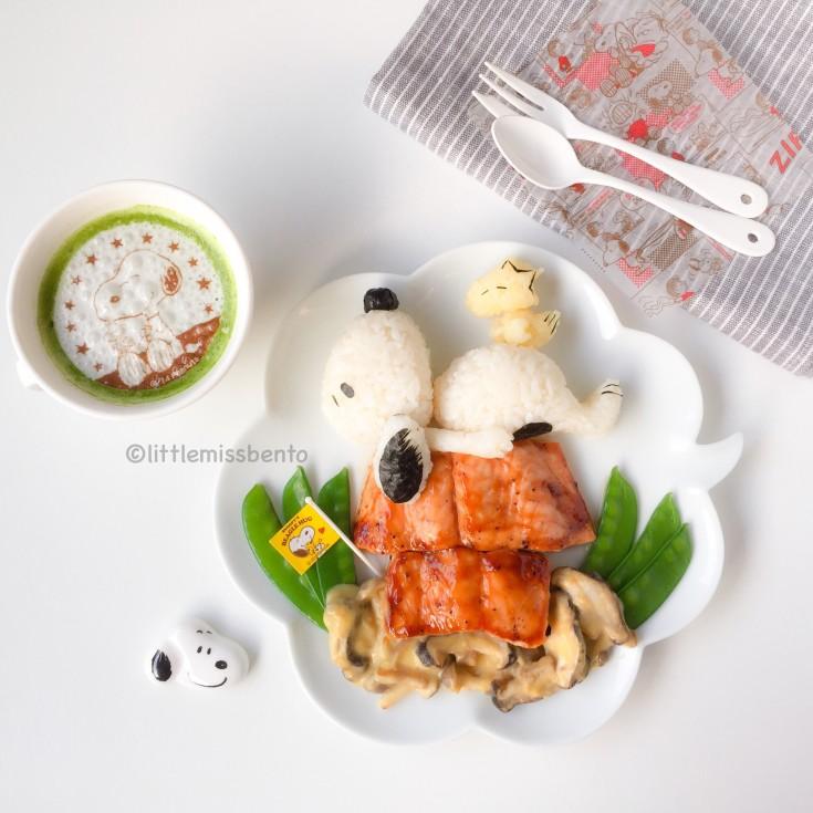 Snoopy foodart