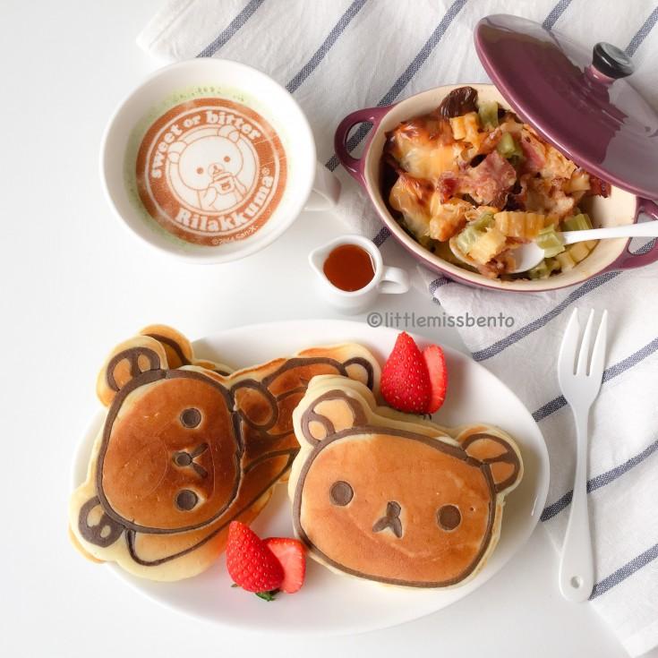 Rilakkuma Pancakes  (4)