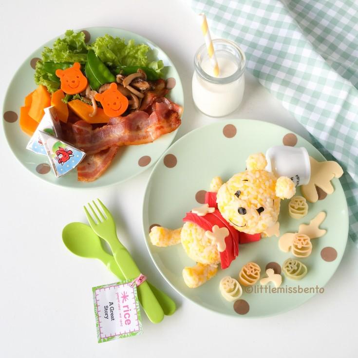 Winnie the Pooh Food art (1)