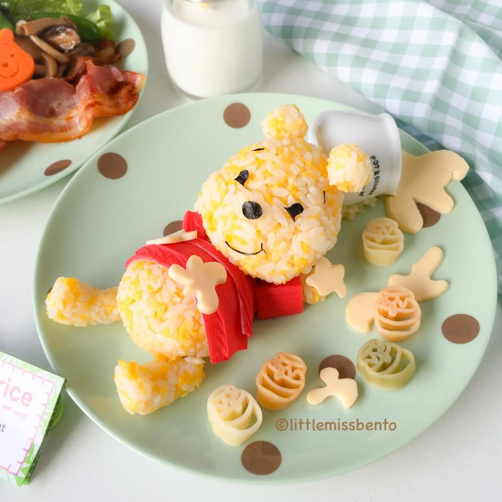Winnie the Pooh Food art (2)
