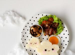 Cloud foodart breakfast (3)