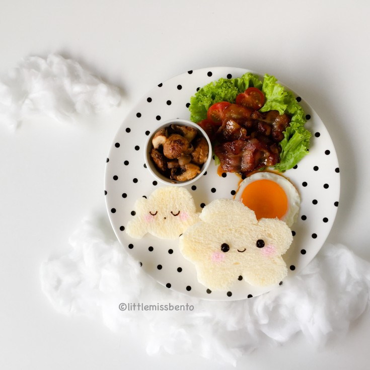 Cloud foodart breakfast (3)
