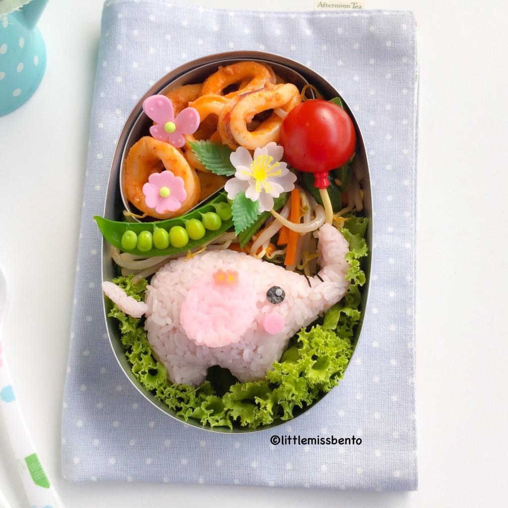 Elephant Bento (2)