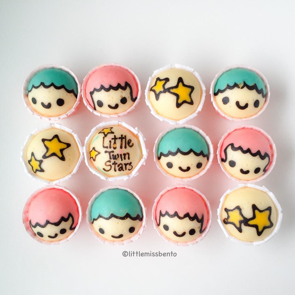 Little Twin Stars Steam Cake
