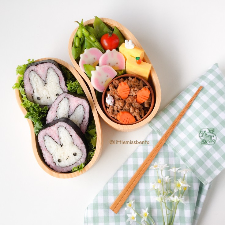 Miffy Deco Sushi Bento (2)