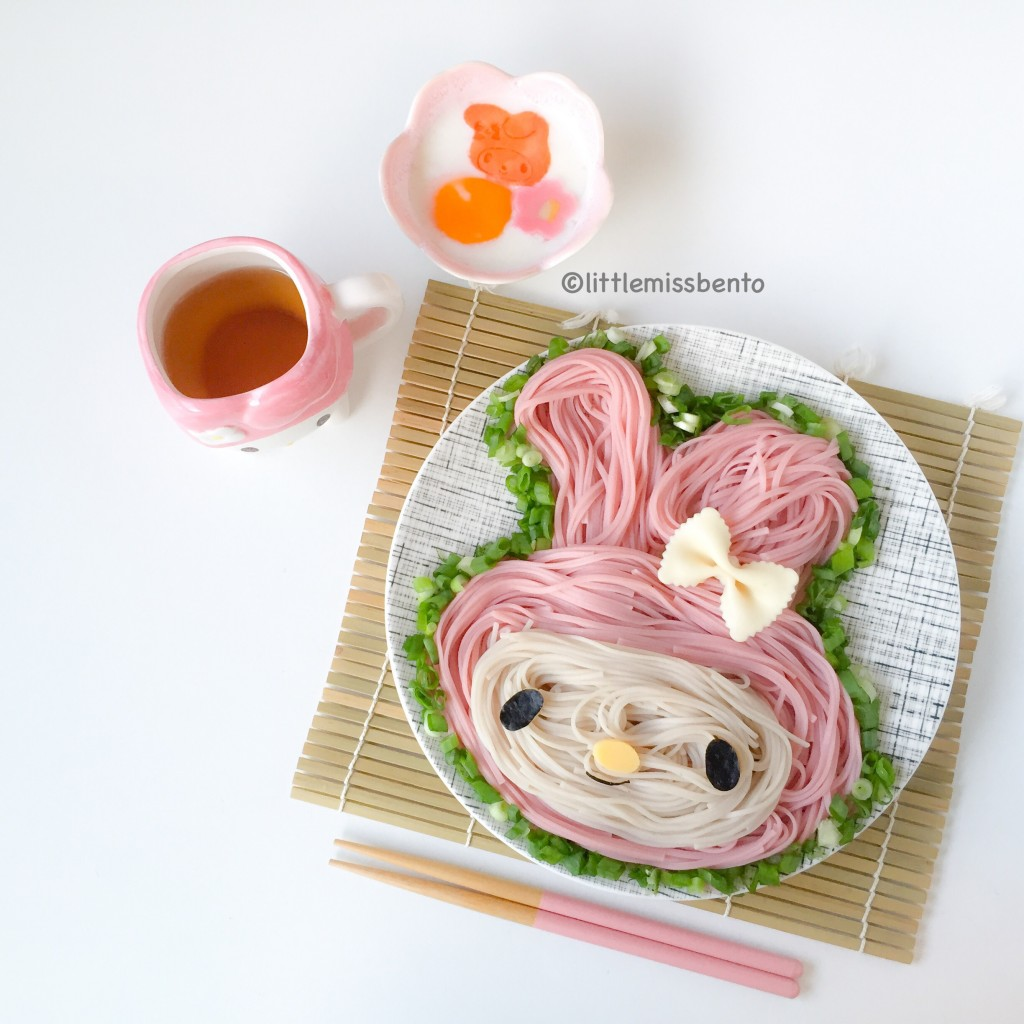 My Melody Cold Udon Foodart (1)