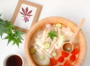 Goldfish Somen Noodles Foodart  (2)