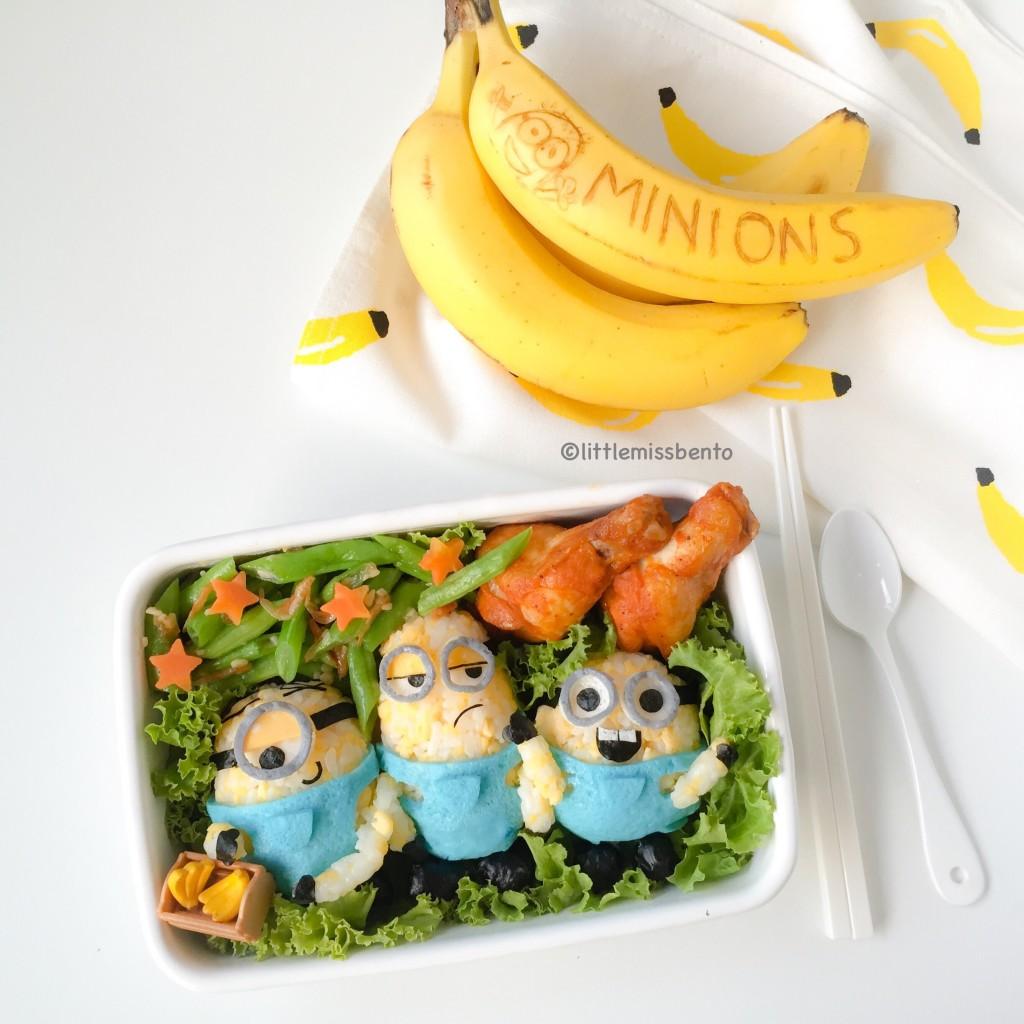 Minions Bento (4)
