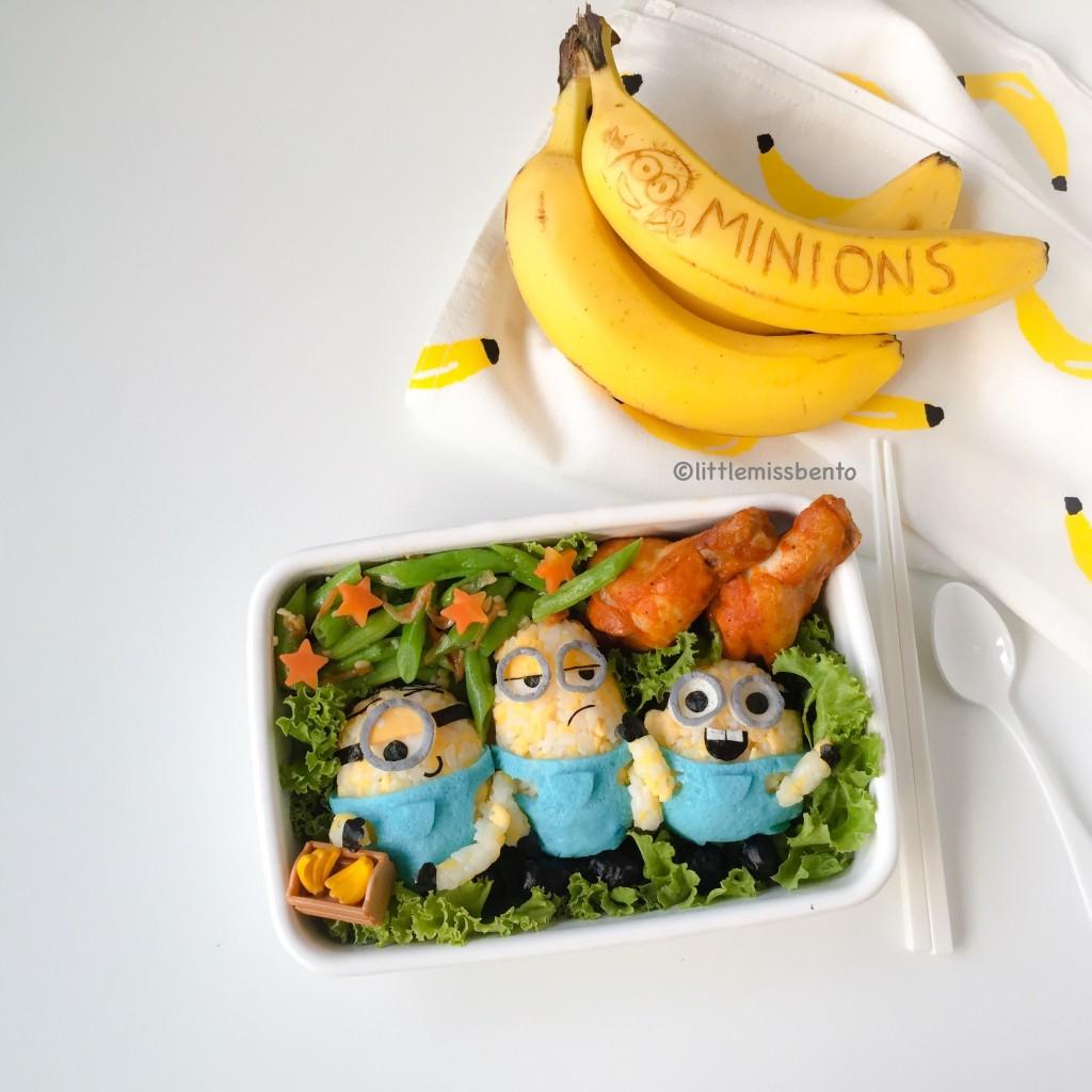 Minions Bento (5)