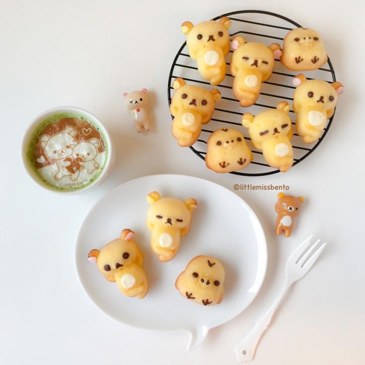 Recipe Rilakkuma Honey Cakes (5)