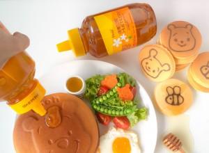 Winnie the Pooh Pancakes Huiji Honey (3)