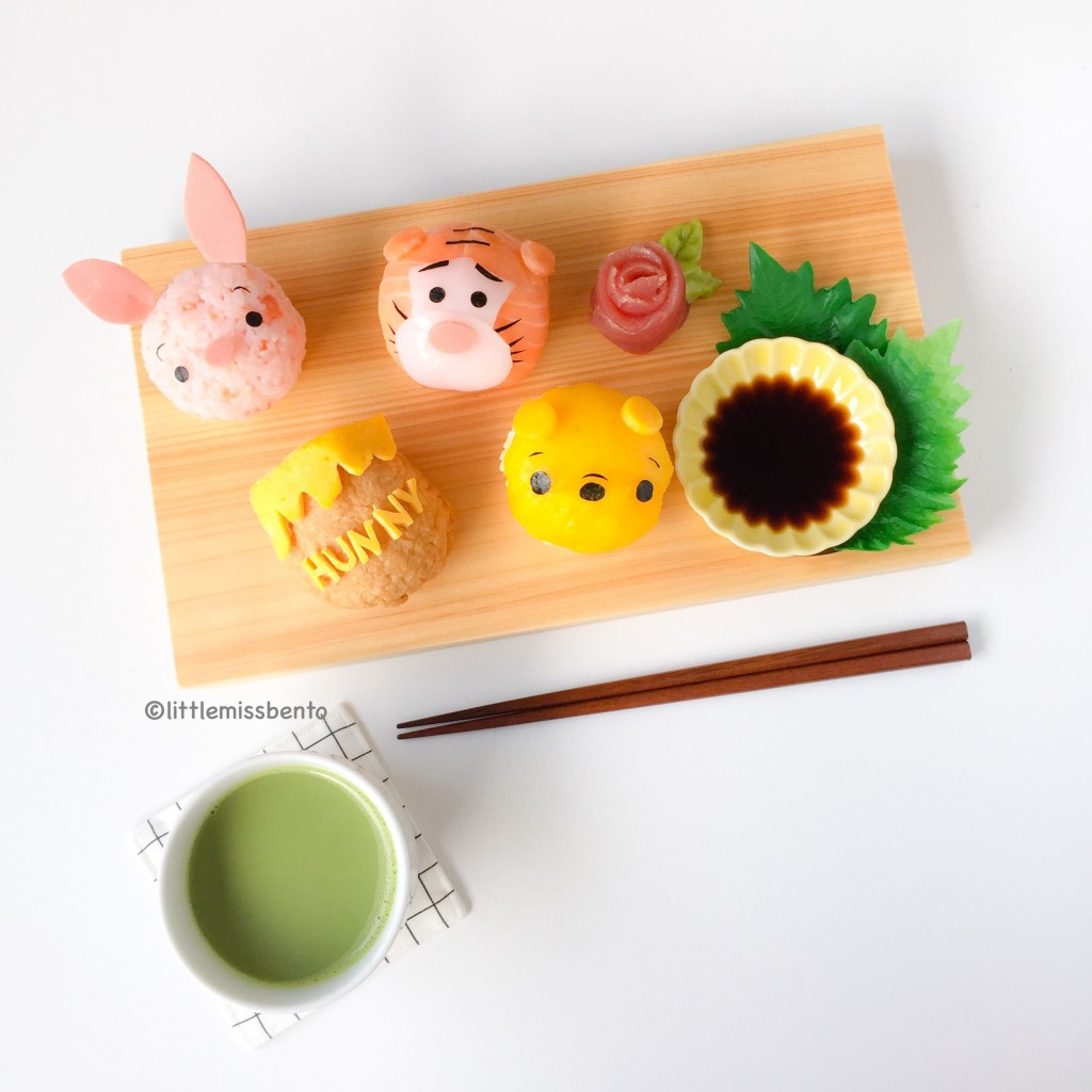 Winnie the Pooh Temari Sushi (6)