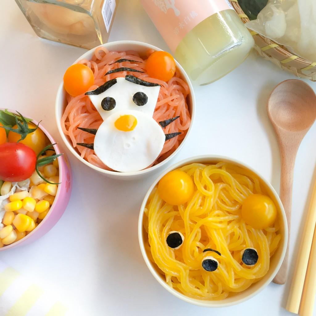 Tigger Pooh Konnyaku Noodles Bento (2)