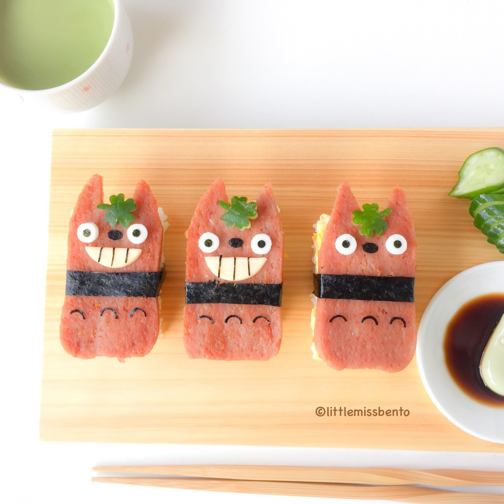 Totoro Musubi Onigiri (2)
