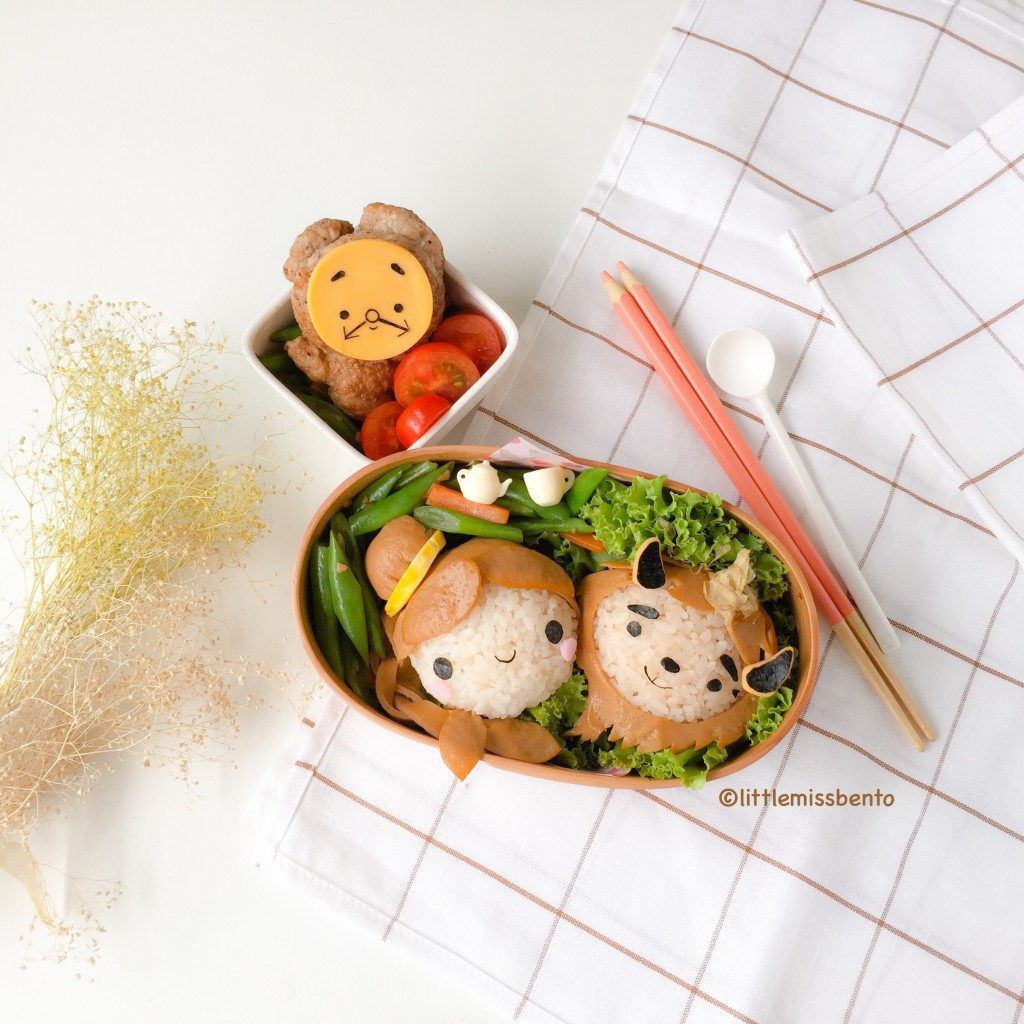 Beauty and the Beast Bento (1)