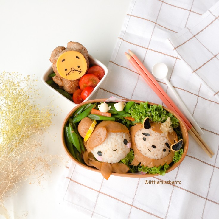 Beauty and the Beast Bento (2)