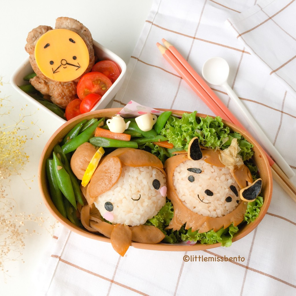 Beauty and the Beast Bento (3)