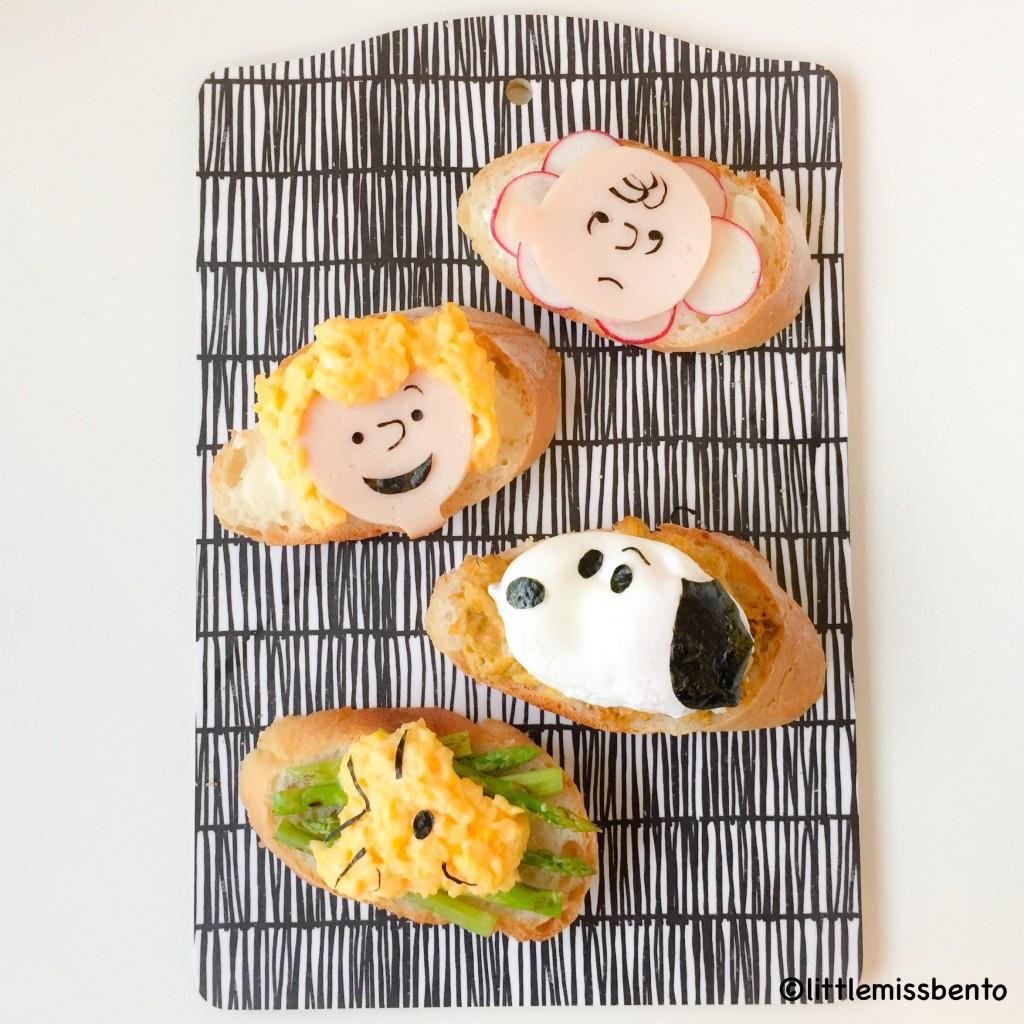 Charlie Brown Snoopy Toast (1)