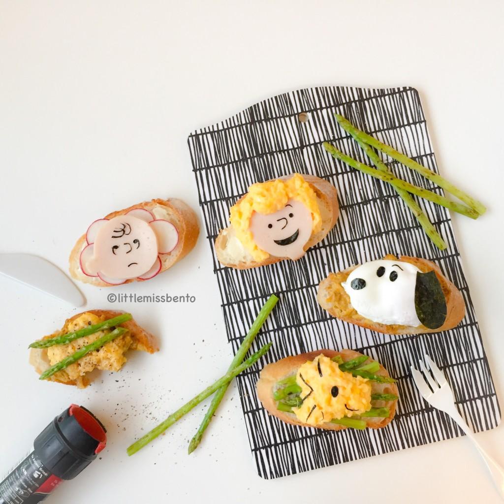Charlie Brown Snoopy Toast (3)