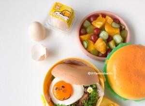 Gudetama Burger Bento (4)