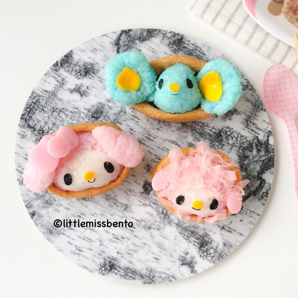 My Melody Inari Sushi (1)